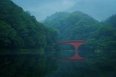 Lake Usui (sonica@2006) Tags: is it very mysterious japan gunma usui lake fog xm1 xf35mm fujifilm fujinon
