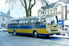 Slide 073-40 (Steve Guess) Tags: cpg160t aec reliance plaxton tillingbourne bus west sussex horsham england gb uk