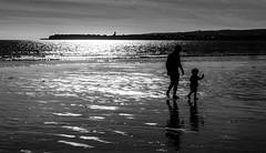 Daddy and ME..!! -#11 (sundar_5050) Tags: sundar nikon d7100 lahinch ireland limerick beach