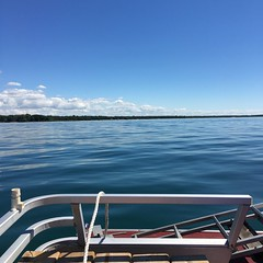 (leitch61) Tags: michigan pontoon nature boating beach water
