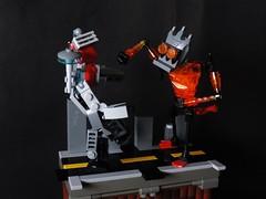 Pacific rim style (joaqunechavarra) Tags: fantasy scifi robot kaiju jaeger lego moc purist vignette