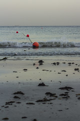 The Beach (Emi.R.) Tags: beach waves shore blue gulf sea ocean sand seaweed ajman uae arbiangulf presiangulf