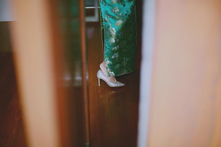 婚禮攝影-穿鞋