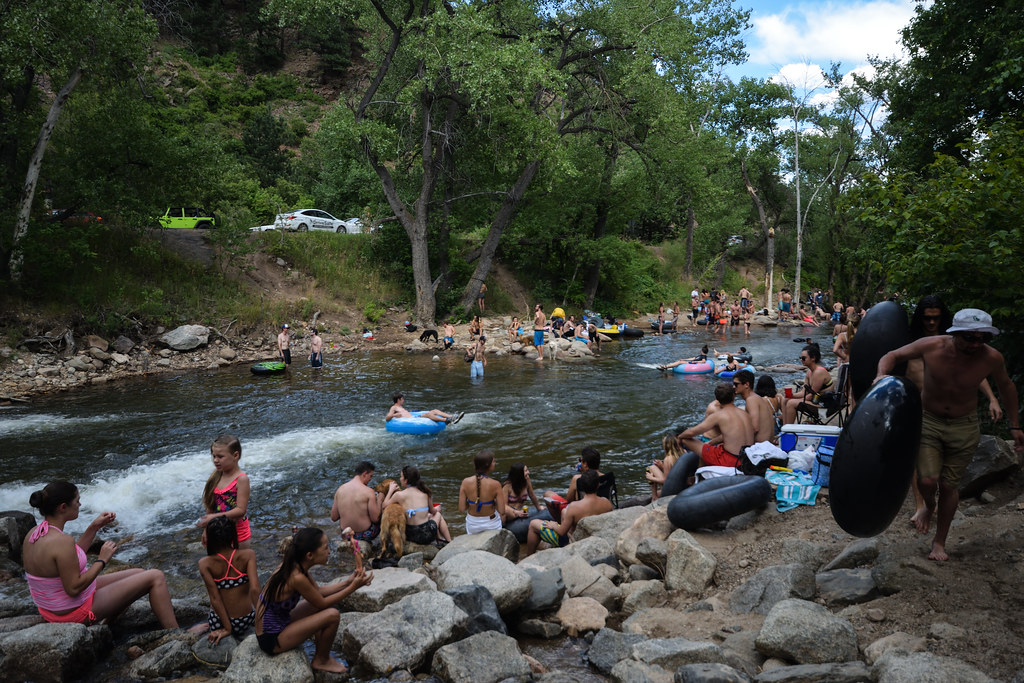 The World's most recently posted photos of creek and tubing