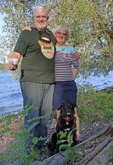 1190 (Jean Arf) Tags: trumansburg ny newyork summer 2016 cayuga lake kevin joanne annie dog
