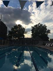 UCSwim club lap pool stormy skies (karenchristine552) Tags: swimclub universitycityswimclub philadelphia westphiladelphia universitycity water pool wet stormy