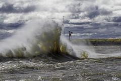 VB Pier Waves_4239 (Kerry. Williams - Amateur) Tags: lakewinnipeg waves big manitoba canada