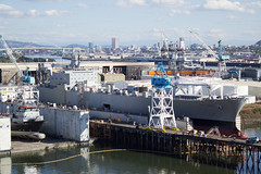 USNS CAPE ISABEL (Eagle Driver Wanted) Tags: capeisable cape isabel usns drydock swanisland portlandoregon ship usnavy