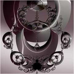 Rings of Destiny (Ross Hilbert) Tags: fractalsciencekit fractalgenerator fractalsoftware fractalapplication fractalart algorithmicart generativeart computerart mathart digitalart abstractart fractal chaos art newtonfractal mandelbrotset juliaset mandelbrot julia spiral orbittrap circles rings