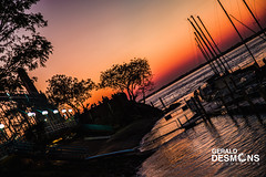 Club de Regatas de Corrientes ! (geralddesmons) Tags: corrientes regatas club fotografias gerald desmons paisaje puesta sunset