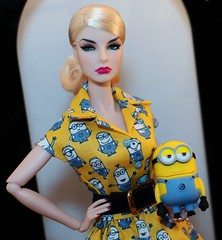 Got Minions? (JennFL2) Tags: head for glamor glamour agnes von wiess convention minion dave usb drive jennfl integrity toys fashion royalty