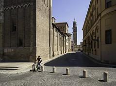 Parma - Explored 11:09:16 (sisyphus007) Tags: parma italy italia italian city emiliaromagna piazzaduomo piazzaledellamacina sangiovannievangelista 2016michaelkiedyszko olympus olympusomdem5 oli olympusomd olympusem5 micro43 micro43rds cycle cyclist bike cycling