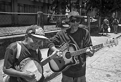 Street Musicians (Beegee49) Tags: street musicians minstrels bacolod city philippines