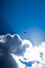 fly high to the sky... (dannyhahn82) Tags: sky sun blue glider plain fly gliding clouds
