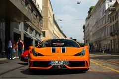 Rosso Dino (David Clemente Photography) Tags: ferrari ferrari458speciale 458 458speciale 458italia armanihotel supercars hypercars rossodino ferrari458 ferrari458italia cars speciale italia