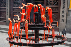 Red candles (Frances CdeB) Tags: lingyan temple incense burning candles offerings rituals