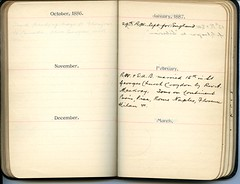 Diary of Robert Wallace p.15 (Community Archives of Belleville & Hastings County) Tags: 1880s 1890s 1900s 1910s 1920s diaries homechildren