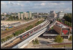NS 186 122 - 9247 (Spoorpunt.nl) Tags: 16 september 2016 ic brussel benelux 9247 ns traxx 186 122 nmbs sncb rijtuigen voitures i10 i6 schiedam centrum skyline rotterdam
