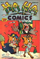 Ha Ha 17 (Michael Vance1) Tags: art artist anthology comics comicbooks cartoonist funnyanimals fantasy funny humor goldenage
