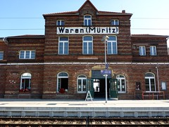 Waren(Mritz) ( Percy Germany  ) Tags: warenmritz waren bahnhofwaren bahnhof percygermany db warenandermritz berlin