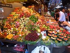 La Boqueria market, Barcelona (bruvvaleeluv) Tags: barca barcelona catalunya catalonia spain la boqueria market food vegetables