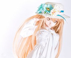 white queen () Tags: doll bjd dollfie dream volks animate japanese toy blond heero nikon d810
