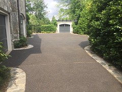 Residential All-Stone Driveway - Alexandria, VA