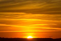 Sundown (ArtGordon1) Tags: sunset sunrays evening london england walthamstow uk october 2016 davegordon davidgordon daveartgordon davidagordon daveagordon artgordon1 sky