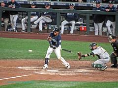 Ball Meets Bat (Starlite Wonder Imaging) Tags: mariners baseball seattle moose starlite wonder imaging stadium safeco northwest winning homerun swing play game marte 4