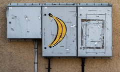 Banana (JohanKampe) Tags: art banan banana bananas bananer city electronics elektronik fooddrink fruit fruits frukt graffiti konst matdryck motala stad sverige sweden