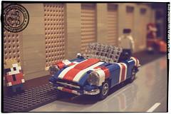Seen at the Skaerbaek Fan Weekend - 009 (Priovit70) Tags: lego moc miniland vehicles diorama afol skaerbaekfanweekend 2016 event olympuspenepl7