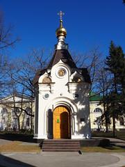 P4170059 (Helgi Hvitabjorn) Tags: helgihvitabjorn olympus cathedral church plants sky chapel nizhnynovgorod