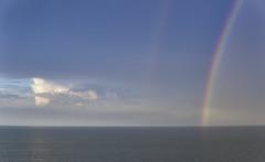 rainbows over Rugen (JohnnyKa$h) Tags: sigma30mmf14dcdncontemporary rgen balticsea ostsee thunderstorm gewitter sea clouds rainbows blue