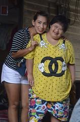 ladies on their porch (the foreign photographer - ) Tags: sep182016nikon two ladies porch downs syndrome khlong bang bua portraits bangkhen bangkok thailand nikon d3200