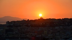 Cagliari (mikael_on_flickr) Tags: cagliari sardegna sardinia sardinien sunset tramonto solnedgang by citt city abend night aften sera sun sole sol cityscape