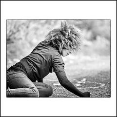 """"""" Black Magic Woman..."""" (jean76_58) Tags: jean7658 portrait nikon dancer danseuse streetportrait streetphotography street streetphotographia blackwhite bw noirblanc nb monochrome monotone hair chevelure cheveux blackpeople"""
