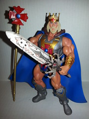 King He-Man (Barbecue17) Tags: motu heman mastersoftheuniverse castlegrayskull matteltoys motuc flickrandroidapp:filter=none kingheman