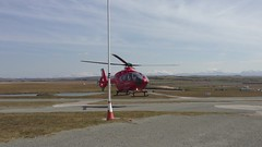 Wales Air Ambulance, (Robert D Thomas) Tags: wales air ambulance ty mon welsh circuit wast trac anglesey croes uploaded:by=flickrmobile flickriosapp:filter=nofilter