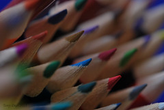 Ready to go! (Tony Dias 7) Tags: macro pencils colours coloured