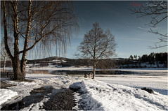 Olberg Fjord (Cristian Lupi 72) Tags: sunset snow primavera ice oslo norway sunrise river lago nikon fiume chiesa rivers neve fjord northland cristian aereo norvegia fiordo ghiaccio lysaker lupi d90 fiumi aeree laghi nesbyen fiordi olberg paesinordici noresund olbergkirke olbergchurch chiesadiolberg cristianlupi noresundchurch