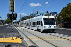 VTA 991 [San Jose tram], Metro / Airport (Howard_Pulling) Tags: usa america nikon transport sanjose american transportation hpulling howardpulling nikond5100