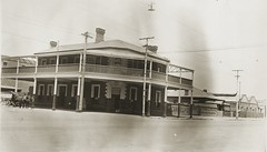 Hotel George, 1927 (State Library of South Australia) Tags: adelaide southaustralia westend shamrockhotel boddingtonsrow colonellighthotel lightsquare curriestreet pubs hotels samemory statelibraryofsouthaustralia