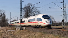 406 001 Voerde 07.04.2013 (hansvogel51) Tags: ice train germany deutschland siemens eisenbahn db ice3 elektrotriebwagen br403