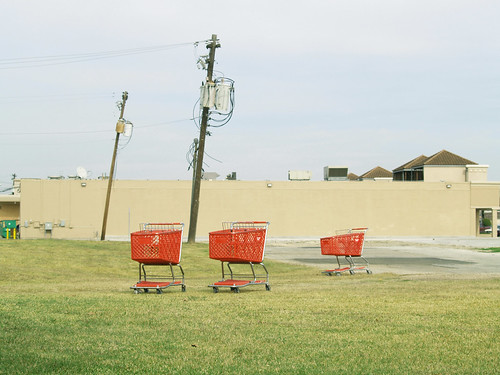 three carts