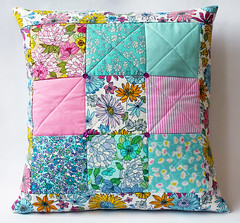 Beginners Patchwork Workshop (by The Lovelorn Sea) Tags: workshop quilting patchwork beginners 9patch