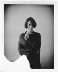 Tribute to Katja XX (__Daniele__) Tags: portrait mamiya monochrome sepia polaroid paul universal edition schwarweiss giambarba 1500iso