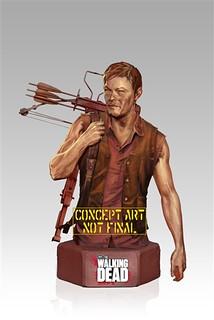 THE WALKING DEAD半身像系列即將推出弓箭男戴瑞