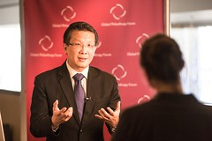 Benedict Cheong at the 2013 Global Philanthropy Forum