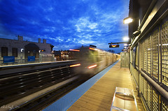 Now Departing (rjseg1) Tags: city urban chicago station train cta el transportation elevated lincolnpark armitage