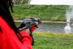 Shooting 2 (jnaquin91 (OutOfOrder)) Tags: gun impact shooting firearm